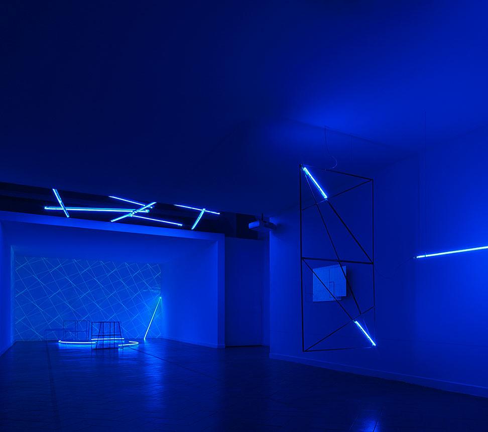 Jacques Toussaint  <br/>&#8230;que du bleu!